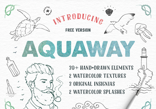 AquaWay Free Vector Pack