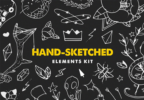 The Hand-Sketched Elemenets Kit